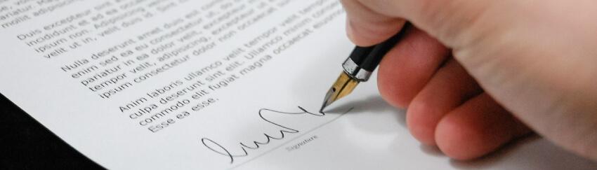 an estate distribution agreement